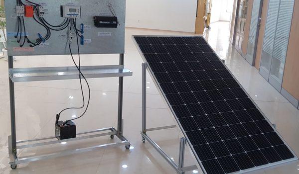 بسته آموزشی نیروگاه خورشیدی با باتری ON-PVsys-Bat