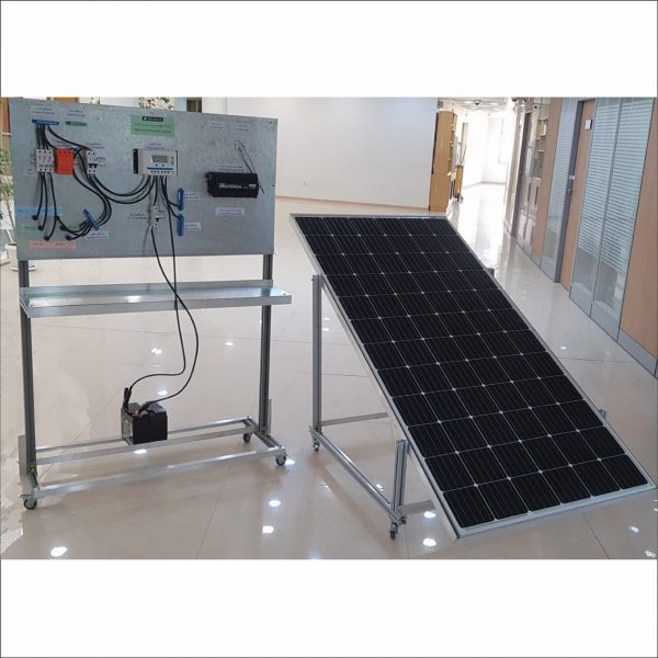 بسته آموزشی نیروگاه خورشیدی با باتری